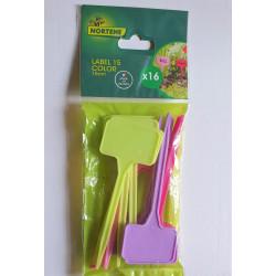 Etiquettes en plastiques (Lot de 16) par Semences du Puy